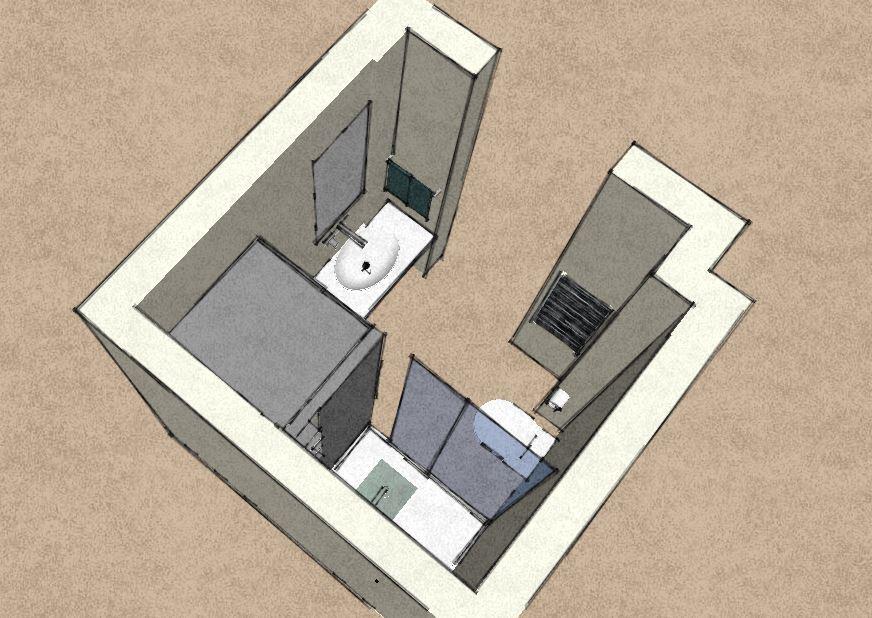 Un bagno quadrato da rifare ideas around home - Devo rifare il bagno ...